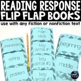 Reading Response Flip Flap Books - Common Core Aligned