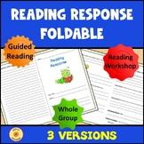 Reading Response Foldable