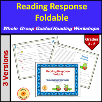 Reading Response Foldable
