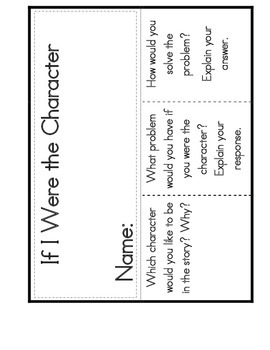 Reading Interactive Notebooks: Reading Response