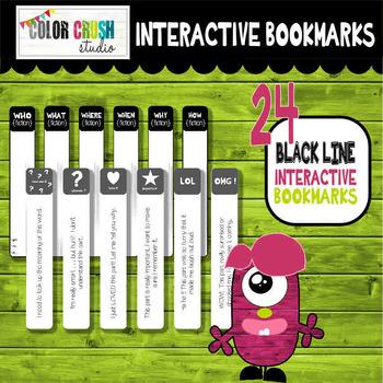 Reading Response Bookmarks For Any Book + Bonus Reading Logs