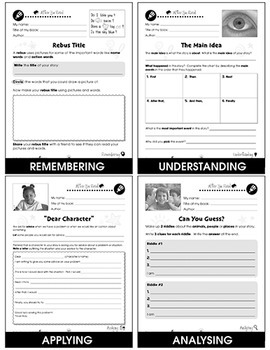 Reading Response Forms BIG BOOK Gr. 1-6