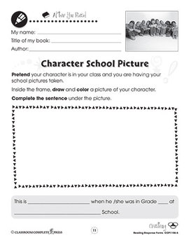 Reading Response Forms: Creating Gr. 1-2
