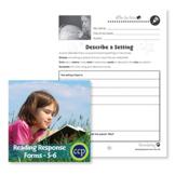 Reading Response Forms: Describe a Setting Gr. 5-6 - BONUS WORKSHEETS