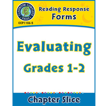 Reading Response Forms: Evaluating Gr. 1-2