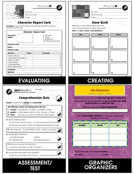 Reading Response Forms Gr. 3-4
