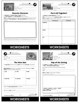Reading Response Forms: Understanding Gr. 3-4