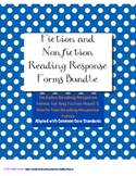 Reading Response Forms for Fiction and Nonfiction Bundle