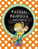 Reading Response  -  Forms for k-2