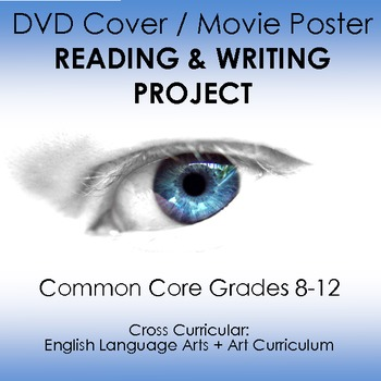 Reading Response / Fun Book Report: DVD Case or Movie Poster, Grades 8-12