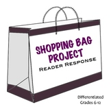 Reading Response / Fun Book Report on Character: Shopping Bag Project