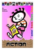Reading Response: Generic Fiction Booklets 1-2-3-4 (4 Pack)