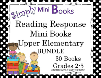 Reading Response to Literature Grades 2-5 Bundle: Simply M