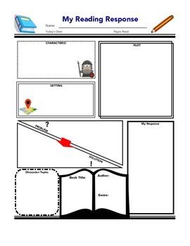 Reading Response Graphic Organizer