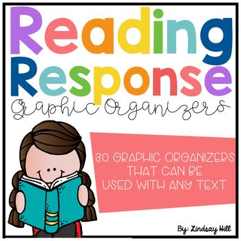 Reading Response Graphic Organizers