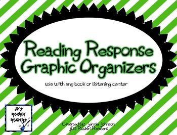 Reading Response Graphic Organizers {FREEBIE}
