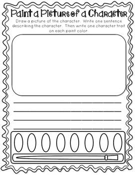 Reading Response Graphic Organizers (For Fiction and Nonfiction)