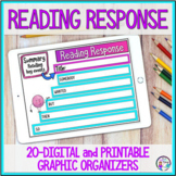 Digital and Printable Graphic Organizers for Distance Lear