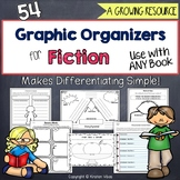 Graphic Organizers for Reading Comprehension Fiction