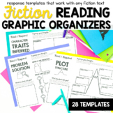 Reading Response Graphic Organizers for Fiction Texts