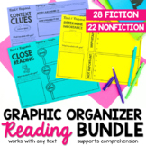 Reading Response Graphic Organizers for Fiction and Nonfiction