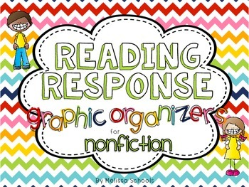 Reading Response Graphic Organizers for Nonfiction