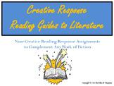 Reading Response Guide: Nine Literature Response Worksheets