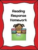 Reading Response Homework