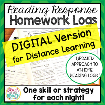 Reading Response Homework Reading Logs