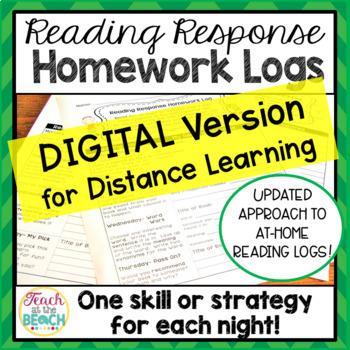 Reading Response Homework Reading Logs
