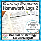Reading Response Homework Reading Logs **Version 2**