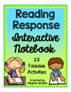 Reading Response Interactive Notebook