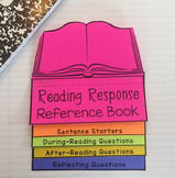Reading Response Interactive Notebook Flip book (reference, discussion guide)