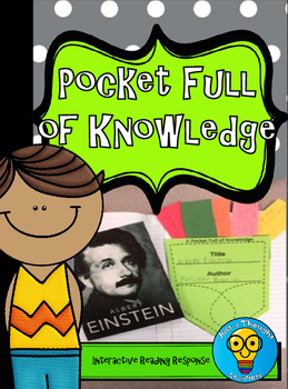 Reading Response - Interactive Notebook - Pocket Full of Knowledge