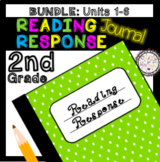 Reading Response Journal BUNDLE Units 1-6