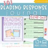 Reading Response Journal Glue-Ins Literature Print & Digital
