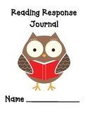 Reading Response Journal - Grades 1-2
