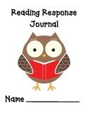 Reading Response Journal - Grades 1-2