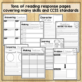 Reading Response Journal: Grades 2 & 3