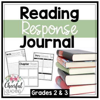 Reading Response Journal: Grades 2 & 3