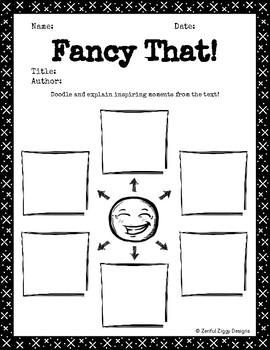 Reading Response Journal #2 (Junior/Intermediate)- Doodle Notes, No Prep!