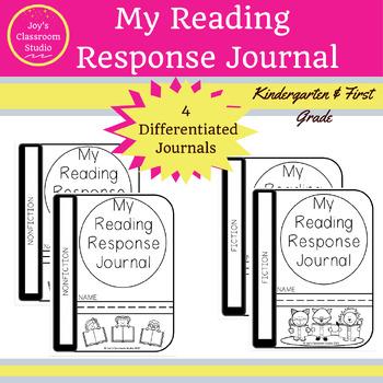 Reading Response Journal (K-1)