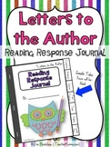 Interactive Reading Booklet / Response Journal ~ Letters to Author ~ Writing