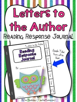Interactive Reading Booklet / Response Journal ~ Letters t