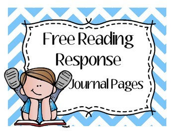 Reading Response Journal Page