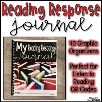 Reading Response Journal - Perfect for Listen to Reading QR Codes!