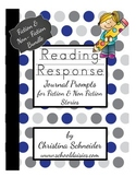 Reading Response Journal Prompts for Fiction and Non-Fiction Bundle