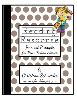 Reading Response Journal Prompts for Non-Fiction Books