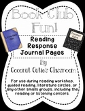 Reading Response Journal {Rainbow Readers Book Club Style}PAGES & POSTERS Bundle