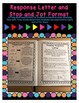 Reading Response Journal (Upper Elementary) - Stop and Jot